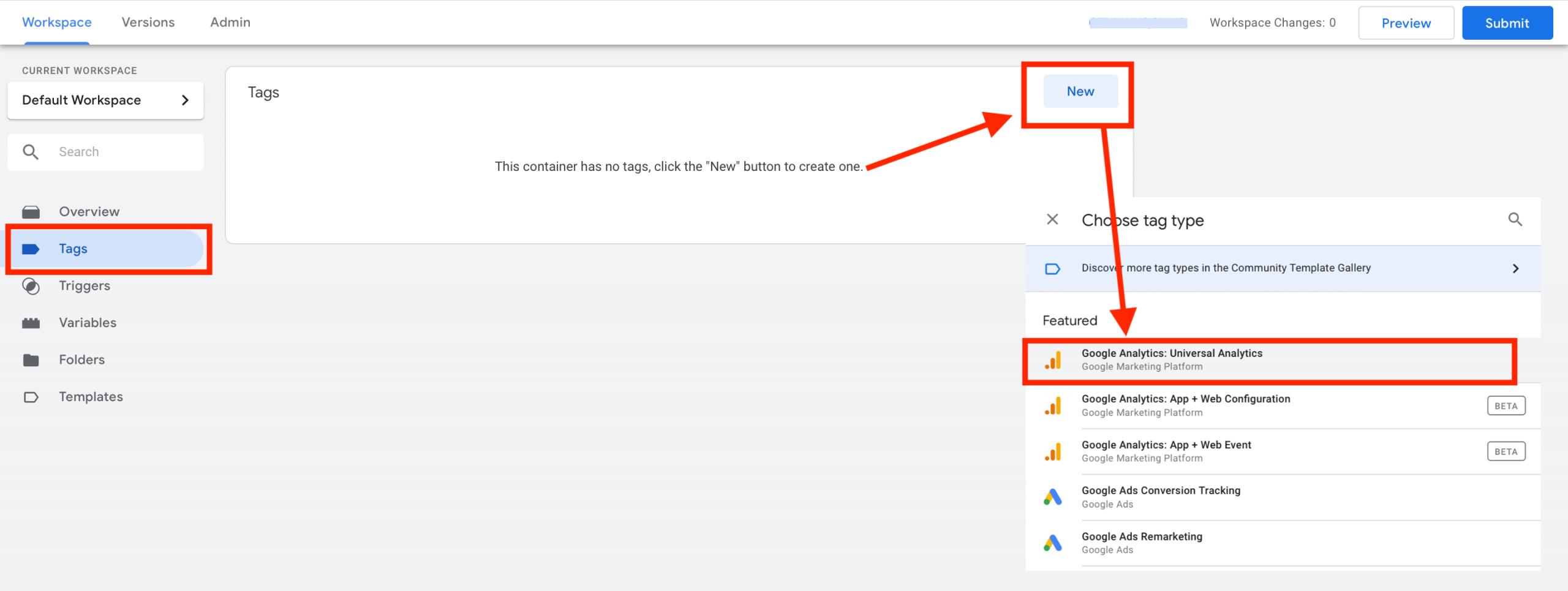 Creating Tag Google Tag Manager