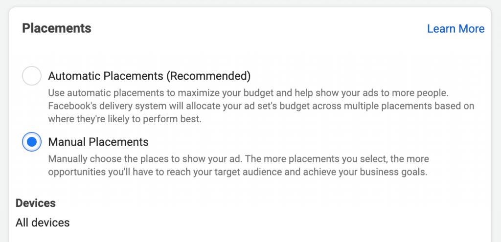 Facebook Mobile Specific Ads 1