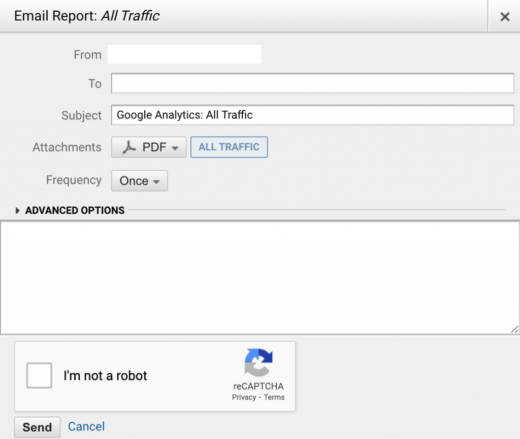 View Google Search Terms in Google Analytics 6