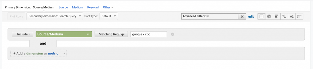 View Google Search Terms in Google Analytics 7