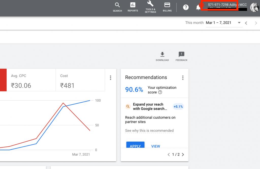 Link Google Merchant Center To Google Ads Account ID