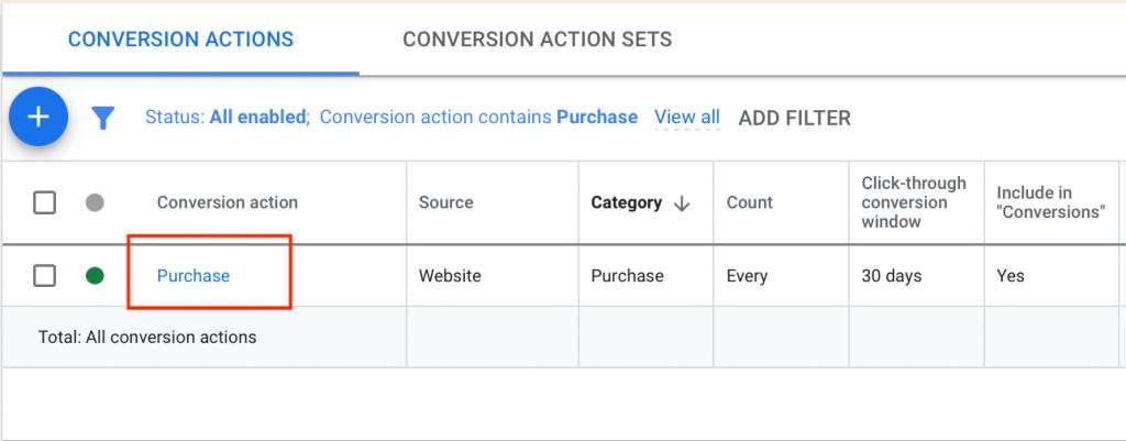 Change Attribution Model in Google Ads Step 2